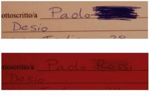 Perito grafologo Pavia