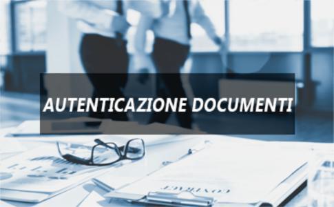 Autenticazione documenti