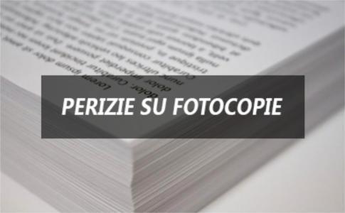 Perizie su fotocopie